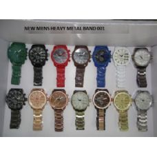 HEAVY METAL MENS WATCHES