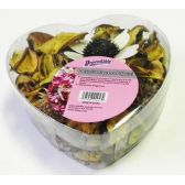 Potpourri in Heart Shaped Package