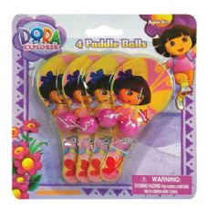 Dora The Explorer Mini Paddle Ball Set