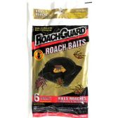 6 Pack Child Resistant Baited Discs Roach Baits