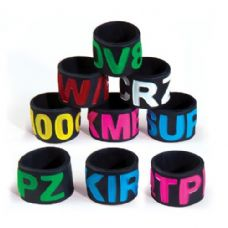 Jumbo Silicone Text Ring