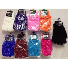 Lady's Magic Gloves Assorted Colors