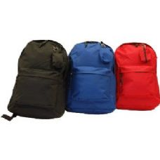 "17"" Premium Quality Backpack-Blue only"