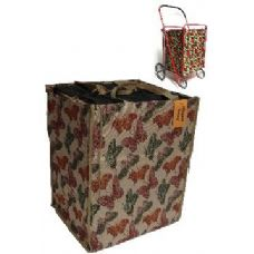 Tapestry shopping cart Liner-Butterfly Pattern