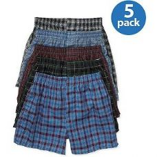 FRUIT OF THE LOOM BOY'S 5 PACK BOXER SHORTS
