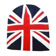 British Flage Winter Beanie Hat