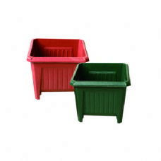 """Square Planter 8.5""""x7.25""""height"""