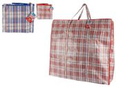 Plaid Shopping Bag