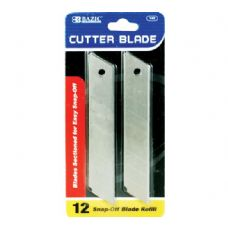 BAZIC Cutter Replacement Blades (12/Pack)