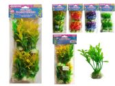 6 Piece Fish Tank Tree Decoration