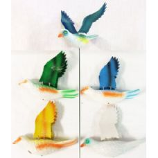 Garden Stake Decoration Dove Piegon Assorted Colors