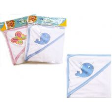 Baby & Kids' Hooded Towel in Pink and Blue