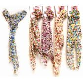 Light Weight Scarves with Flower