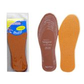 2 Pairs Leather Insoles