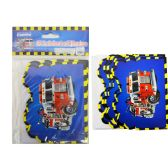 8pc Fire Truck Invitation Card & Envelope