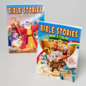 Bible Stories Read And Color 2 Asstd Easy Tear Out Pages In 24 Ct