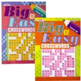 Crosswords Big & Easy 2 Asst In Floor Display