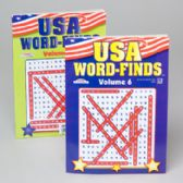 Word Find Usa 96pg 2 Title In 24pc Counter Display