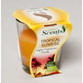 Candle Jar 30z Scented Tropical Sunrise 25hour