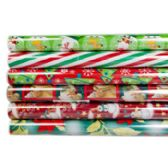 Gift Wrap Christmas 30 Sq Ft 30 Inch X 12 Foot Ppd $3.99 On 1.5 Inch Core