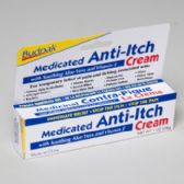 Cream Medicated Anti-itch 1oz 5 Panel Color Boxed Budpak