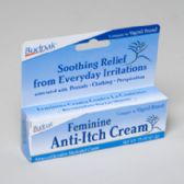 Feminine Anti Itch Cream .75 Oz 5 Panel Color Boxed Budpak