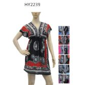 Ladies Fashion Summer Sun Dresses Assorted Styles