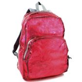 Clear Backpack In Pink