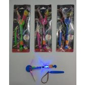 """6"""" Flying Umbrella Propeller Toy with Blue Light"""