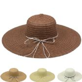 WOMEN'S SUMMER STRAW HAT IN ASSORTED COLORS