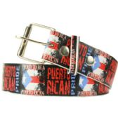 Proud To Be A Puerto Rican Printed Belt