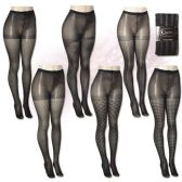 One Size Isadora Fashion Textured Tights