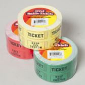 500 Count 2x2 Inch Raffle Ticket
