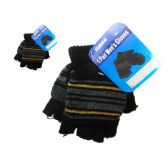 Gloves Men 1pr 4asst Color