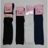 15 Inch Kids Knee High Socks Size 6-8 Assorted Solid Colors