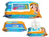 80 Count Baby Wipes With Rect. Flip Top Lid
