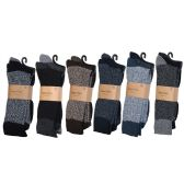 Men's Heavy Boot Socks In Size 10-13 And Assorted Colors