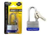30mm Laminated Lock With Long Shackle