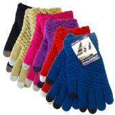 Glove Touch Knit Assorted Colors