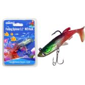 "Fishing W/3 Hook 3.2"" 3asst Color"
