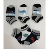 Boy's Printed Anklet Socks 2-4 [Cars]