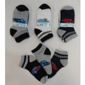 Boy's Printed Anklet Socks 4-6 [Cars]