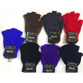 Half Finger Covered Magic Texting Gloves Assorted