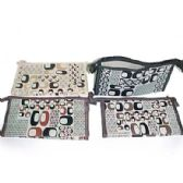 Assorted color cosmetic bag