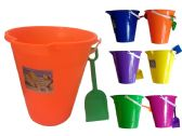 "9"" Plastic Bucket W/Shovel"