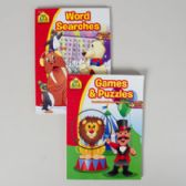 Activity Books School Zone #1 96pg Games + Puzzles/word Search