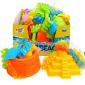 ASST BEACH TOYS IN NET BAG & DISPLAY BOX