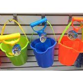 Large Bucket And Shovel 2.50 48/case. Asst Colors
