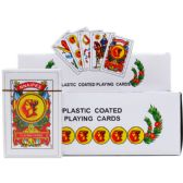 SPANISH PLAYING CARDS IN COLOR CARD BOARD DISPLAY