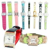 LADIES FASHION WATCHES ASSORTED STYLES